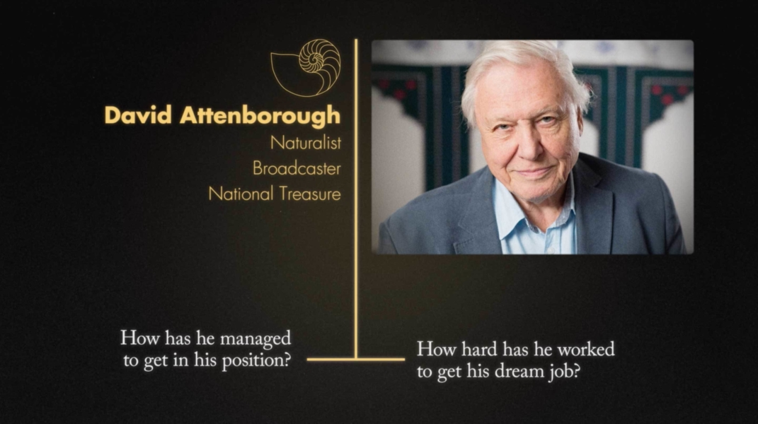 University of Leicester David Attenborough Careers video advert