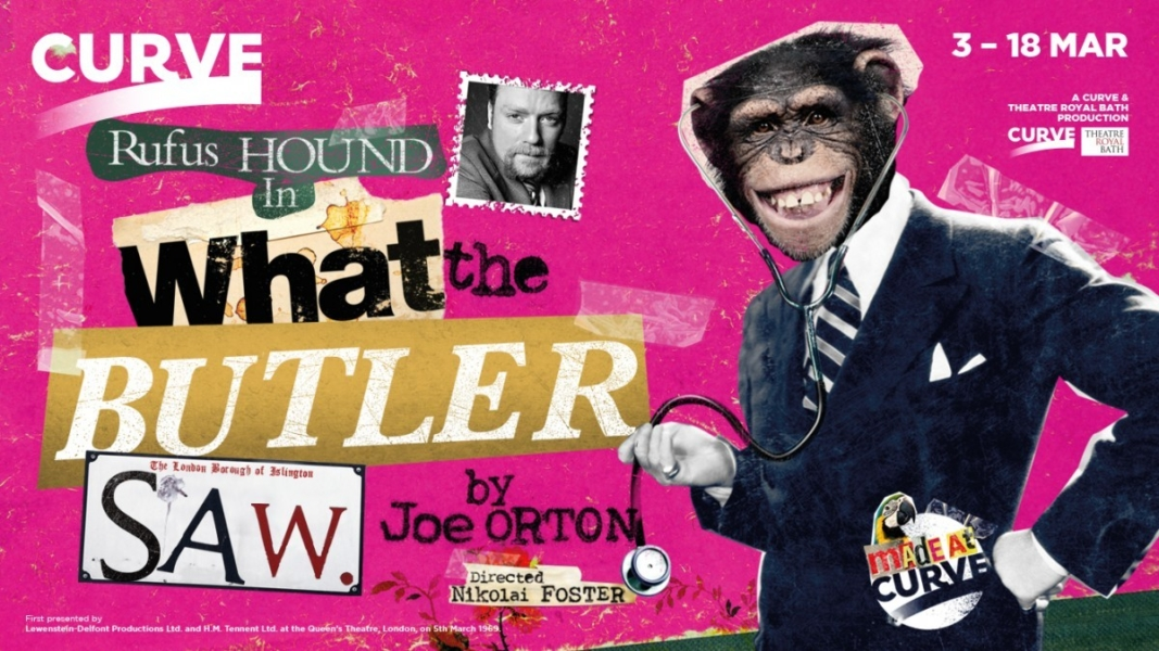 'What The Butler Saw' theatre trailer video