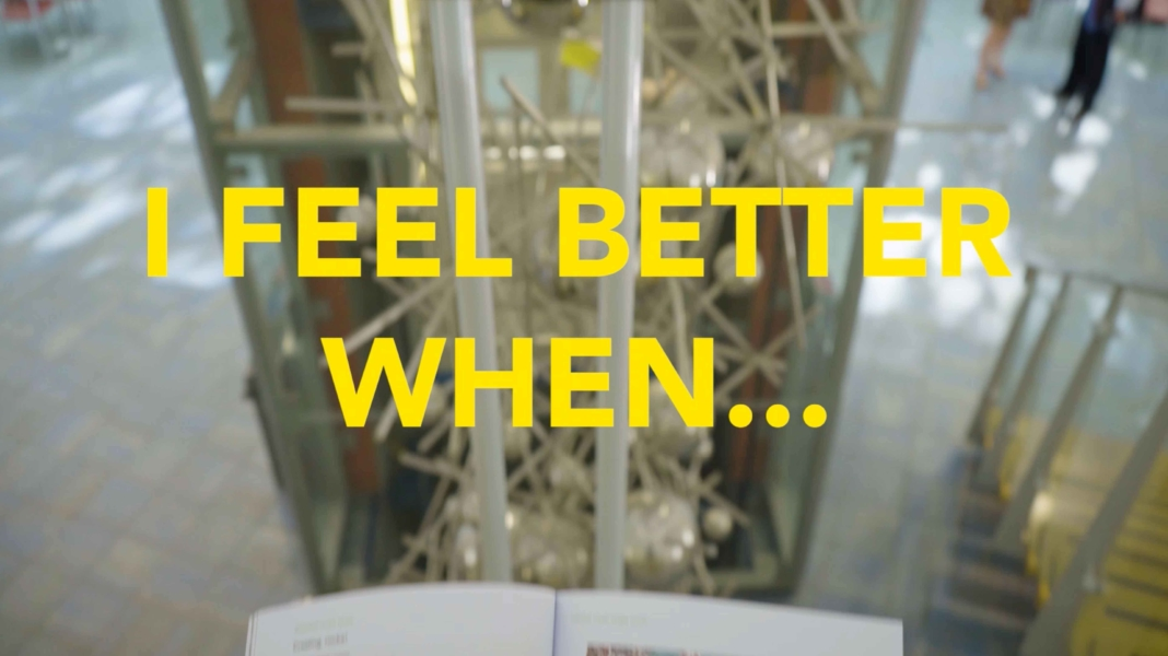 'The Yellow Book' promotional video for University of Leicester