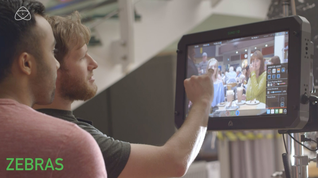 Video production of Atomos advert